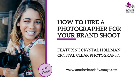 How to Hire a Photographer for Your Brand Shoot - Blog Graphic