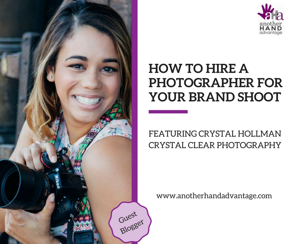 How to Hire a Photographer for Your Brand Shoot - Another Hand Advantage
