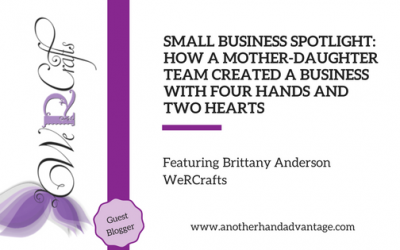Small Business Spotlight- How a Mother-Daughter Team Created a Business with Four Hands and Two Hearts