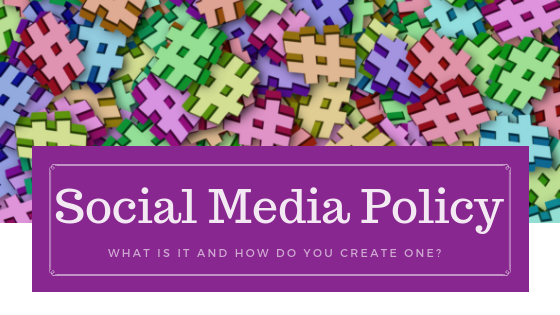social media policy graphic